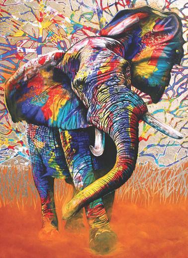 Anatolian  1000 Parça Afrika Renkleri 1054 Renkli
